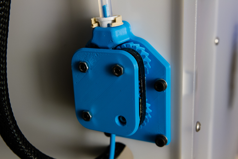 Mounted Rev. A Extruder (Double-Sided Tape)
