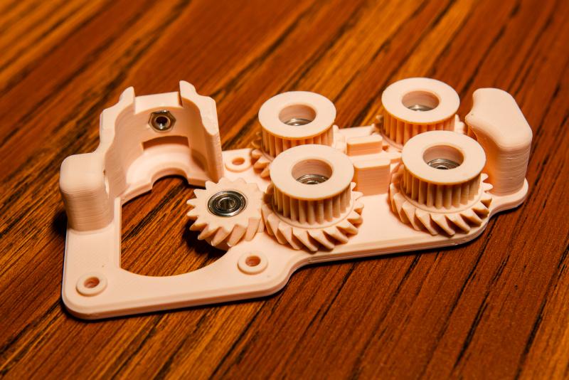 Bottom Piece + Gear Parts