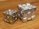 Stainless Steel (left) vs Aluminum (right)