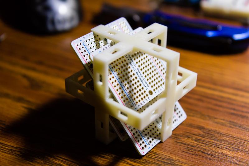 Stacking Protoboards in Frame