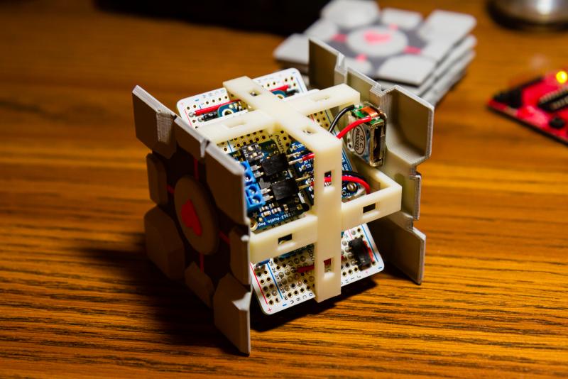 Assembly Inside Cube
