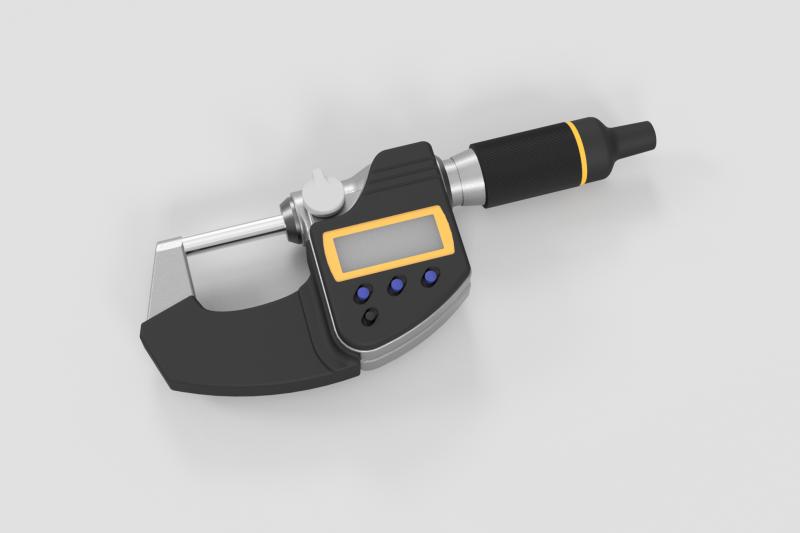 Mitsutoyo Micrometer Render