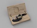 Micrometer Case Render