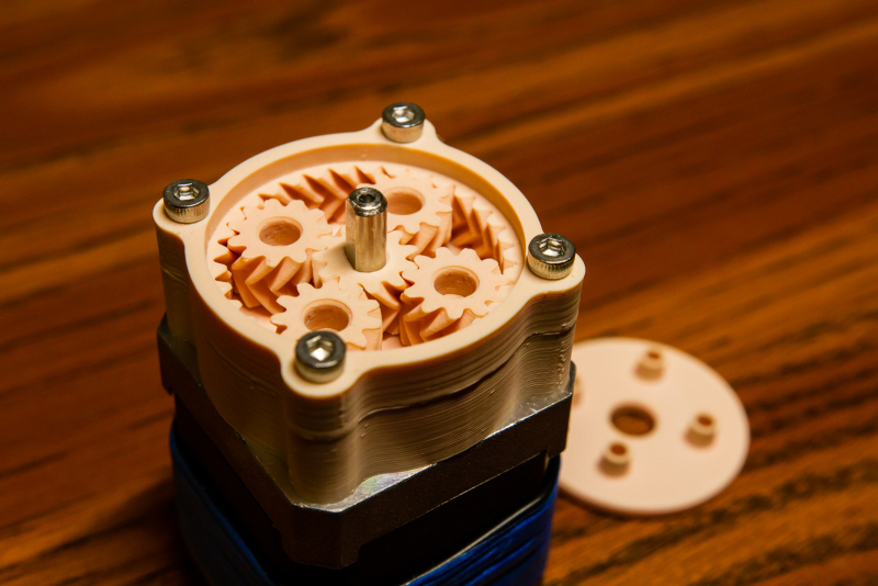 Attached Gearbox