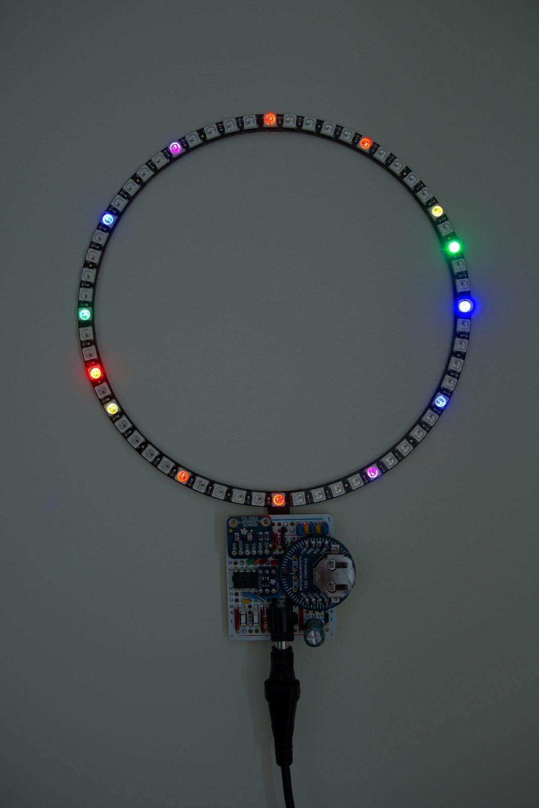 Neopixel Clock 0x7d Com