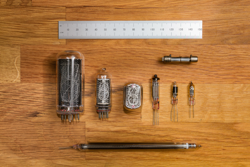 Nixie Size Comparison
