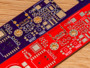 OSHPark (Purple) vs PCBWay (Red)