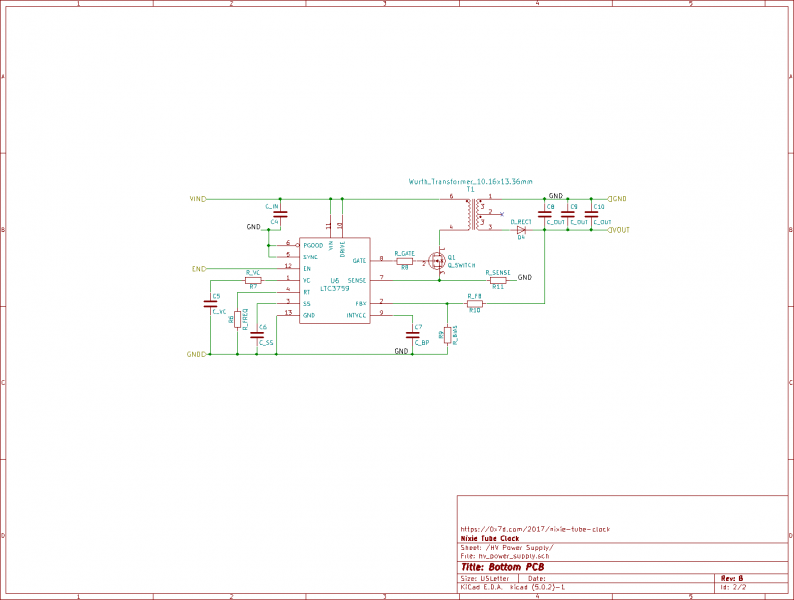 PCB Rev. B Schematic