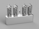 Nixie Clock Render