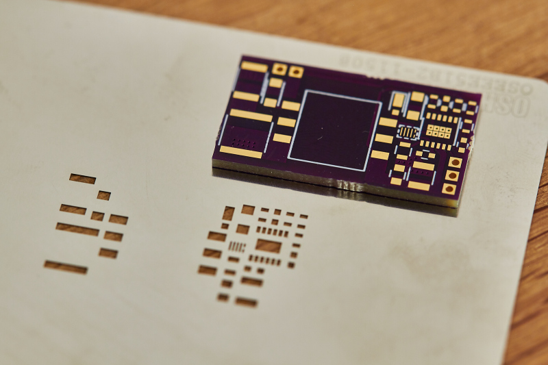 PCB and Stencil (Stainless)