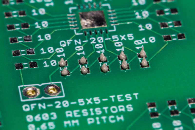 SMD 603 Dot Test