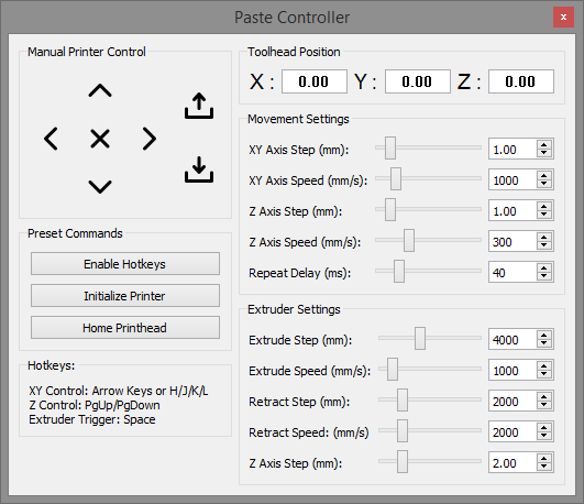 Printer Controller Interface