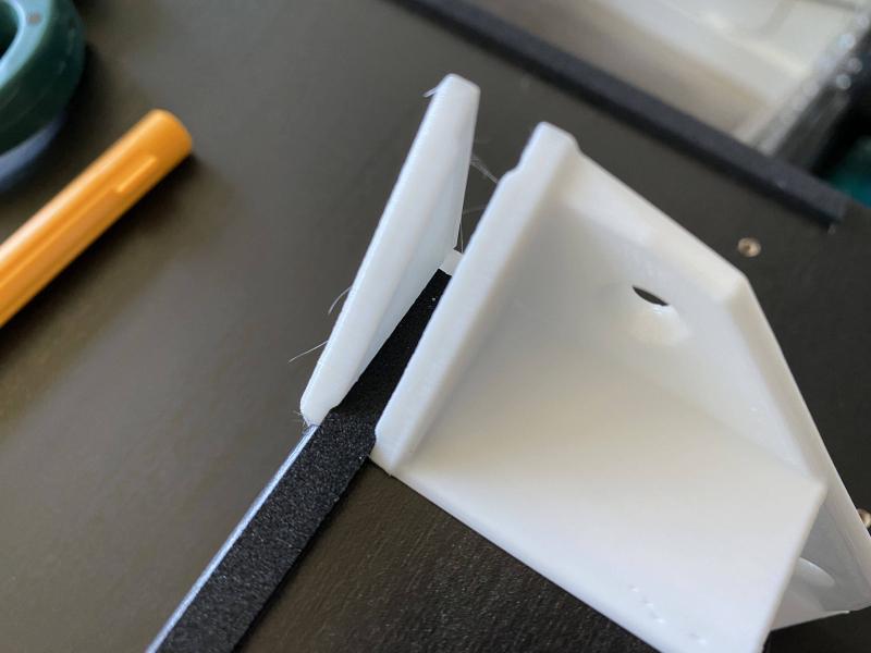 Foam Tape and Corner Bracket Installation