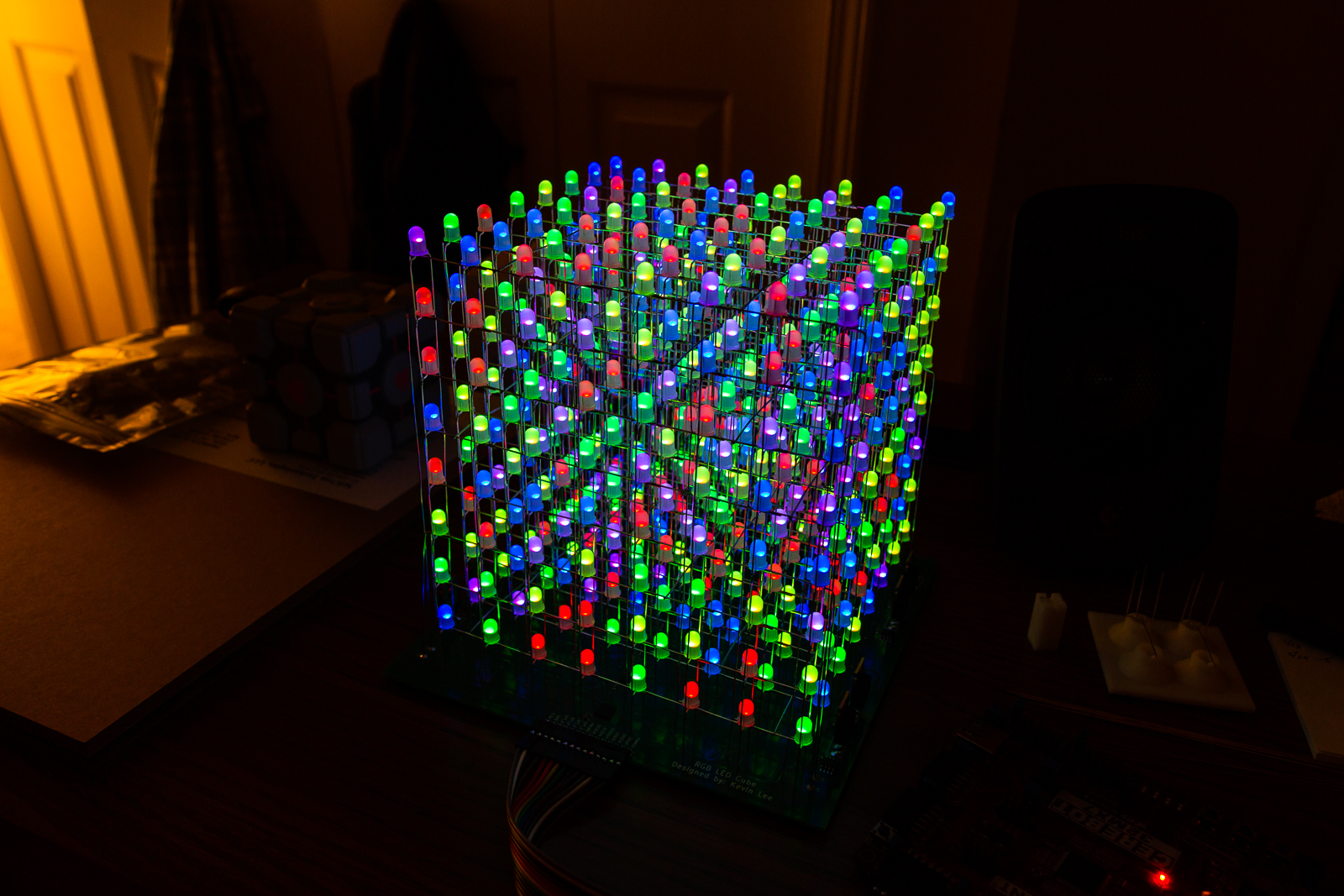 rgb led cube. Black Bedroom Furniture Sets. Home Design Ideas